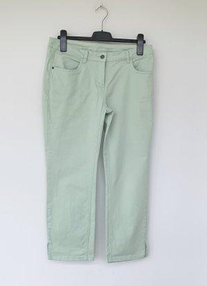 Tchibo / TCM Pantalone a 7/8 verde chiaro Cotone