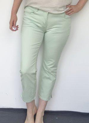 Tchibo / TCM 7/8 Length Trousers lime-green cotton