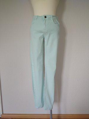 Mintgrüne Jeans von Zara