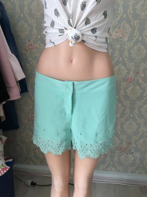 Pantalone a vita bassa verde chiaro