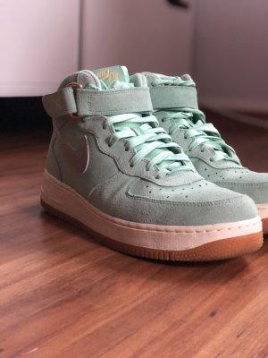 Mintgrüne Nike Air Force 1
