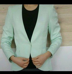mintgrüner Blazer von H&M