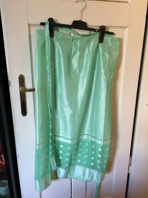 Handmade Wraparound Skirt mint