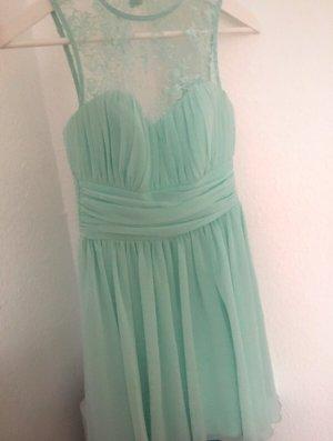 mintgrünes festliches Kleid
