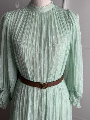 Mintgrünes Maxi-Kleid von Zara