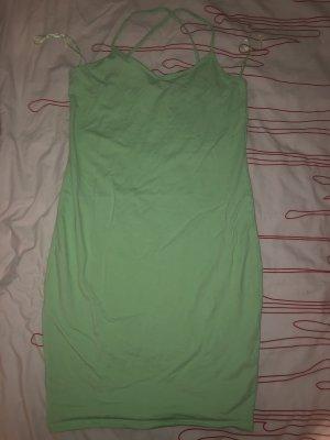 Mintgrünes Minikleid