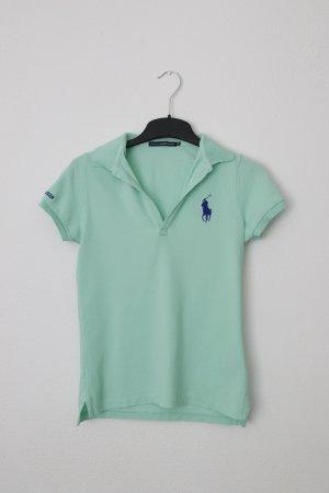 Polo Ralph Lauren Koszulka polo miętowy Bawełna