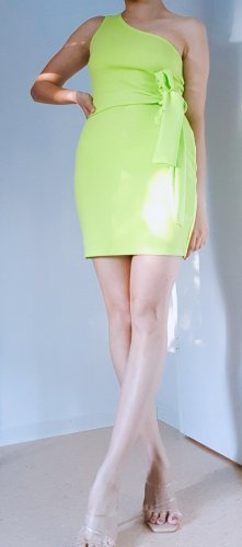 mintgrünes Sommer Kleid partykleid