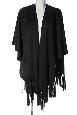 Minx by Eva Lutz Poncho black casual look