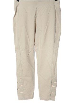 Minx by Eva Lutz Pantalone elasticizzato bianco sporco stile casual