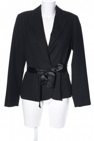 Minx by Eva Lutz Woll-Blazer schwarz Business-Look