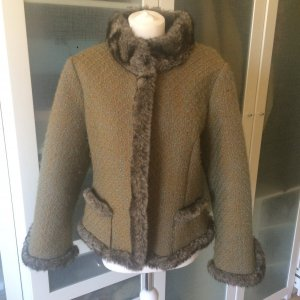 MINX Fake Fur Jacke Gr. 40 aus Wolle top