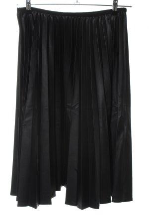 Minx Faltenrock schwarz Elegant