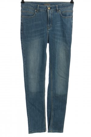 Minx Jeans a vita alta blu stile casual