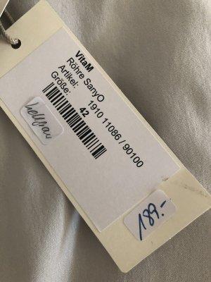 Minx Pantalón de tubo gris claro