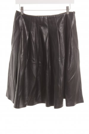 Minx Kunstlederrock schwarz Casual-Look