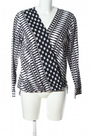 Minx Schlupf-Bluse abstraktes Muster Casual-Look