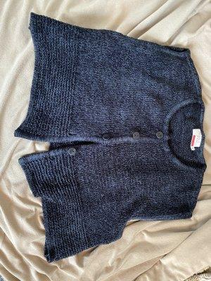 Minx by Eva Lutz Smanicato lavorato a maglia nero