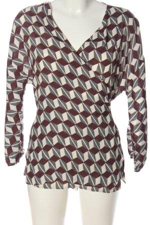 Minx Kopertowa bluzka Na całej powierzchni W stylu casual