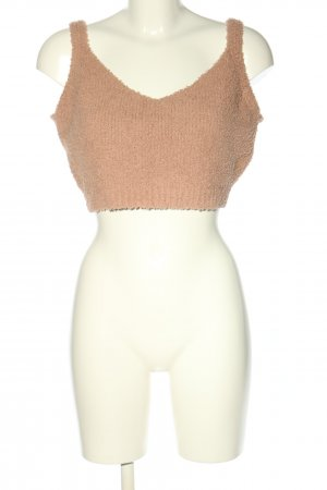 Minxluxe Cropped Top nude Allover-Druck Casual-Look