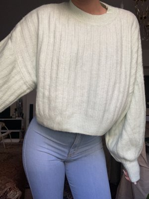 Bershka Pull en laine vert pâle