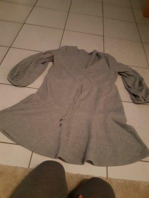 Vestido tejido gris