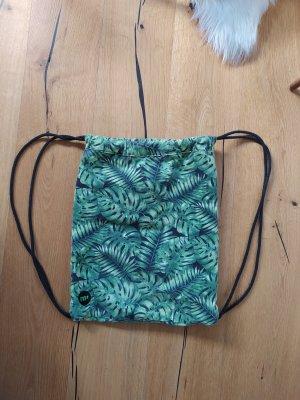 Stoffen tas zwart-groen