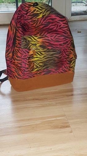 School Backpack multicolored