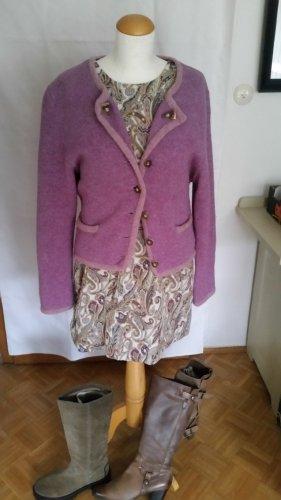 Veste en laine violet