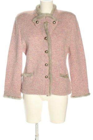 Mirabell Salzburg Blazer in lana rosa puntinato elegante