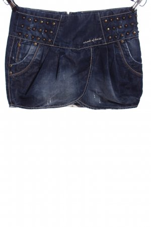 Miracle Of Denim Jeansrock blau Casual-Look
