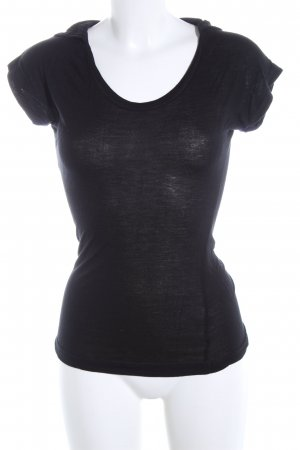 Miracle Of Denim Blusa con capucha negro look casual