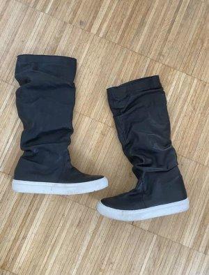 Mis Pepas Winter Boots black-white