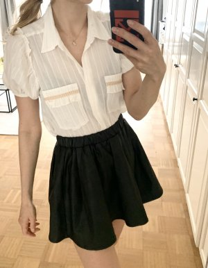 Misa Los Angeles Cropped Bluse