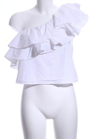 Misa Los Angeles Rüschen-Bluse wollweiß Elegant