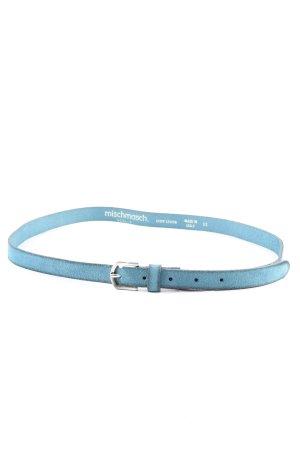 Mischmasch Berlin Ledergürtel blau Casual-Look