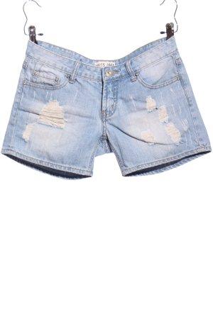 MISS ANNA Hot Pants blau Casual-Look