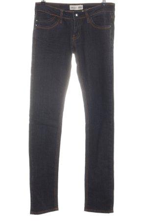 MISS ANNA Jeans vita bassa nero stile casual