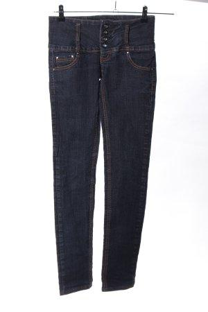 MISS ANNA Slim Jeans blau Casual-Look