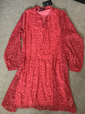 Via Appia Tunic Dress bright red-red