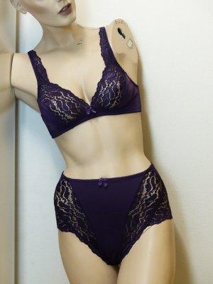 Miss Astor Set lingerie rosso mora