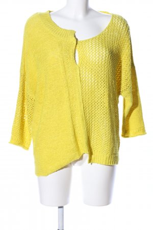 MISS BY CAPTAIN TORTUE Crochet Sweater primrose casual look
