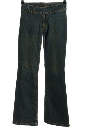 Miss C Jeans bootcut bleu style décontracté