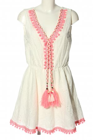 miss goodlife Hippie Dress cream-pink casual look