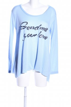 miss goodlife Oversized Shirt blau Casual-Look