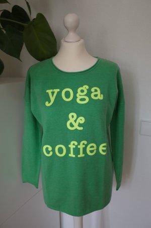 Miss Goodlife Yoga & Coffee Kaschmir Pullover