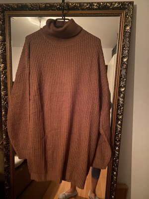 Miss guided Long Sweater brown-cognac-coloured