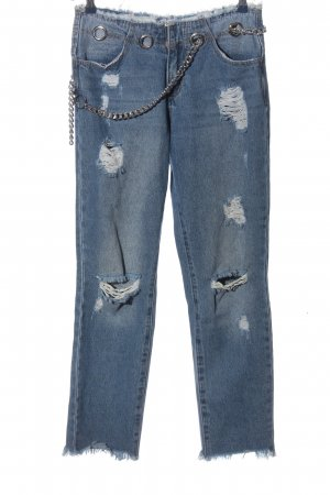 Miss guided Straight-Leg Jeans blau Casual-Look