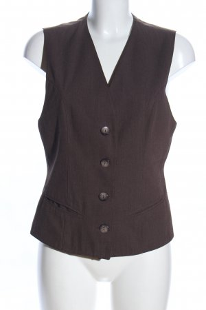 Miss H. Waistcoat brown flecked business style