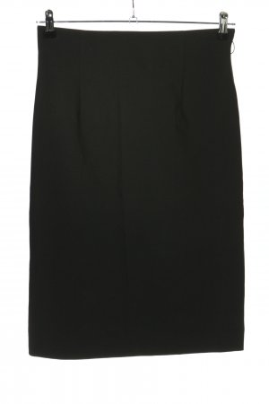 Miss H. High Waist Rock schwarz Business-Look